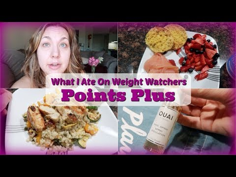 What I Ate On Weight Watchers POINTS PLUS   Trying Blue Apron, Body Changes, and Life Chats
