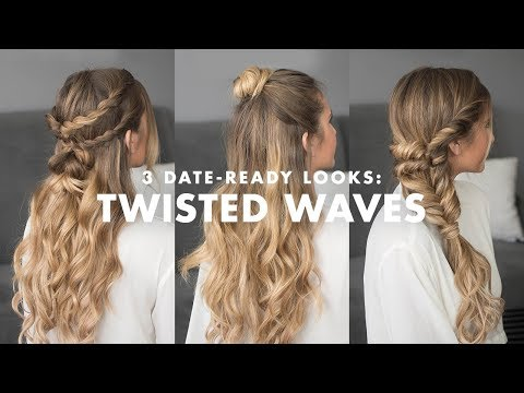 Valentines Day Hairstyles – 3 Dates & 3 Looks