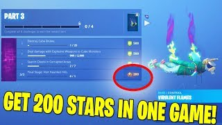 [GLITCH] GET 20 FREE TIERS IN ONE MATCH!!! FORTNITE BATTLE ROYALE
