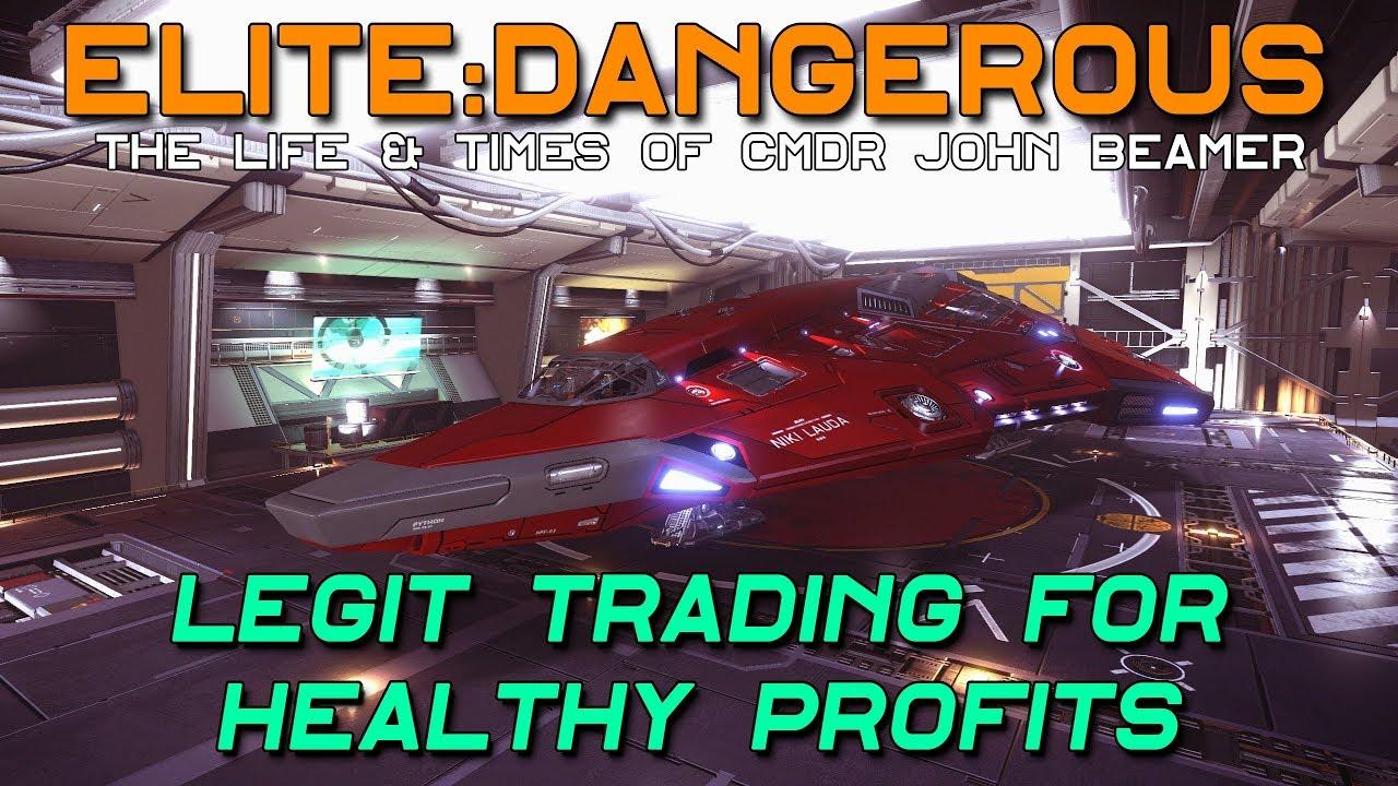 Elite Dangerous - Legit Trading for Healthy Profits
