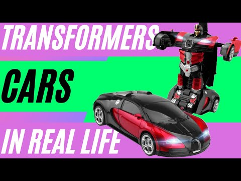 10 REAL TRANSFORMING VEHICLES You Didn't Know Existed