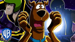 Scooby-Doo! | Phantosaur Motorcycle Chase | WB Kids