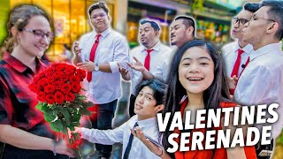 VALENTINES Surprise Serenade In Public (Ang Sweet!)   Ranz and Niana