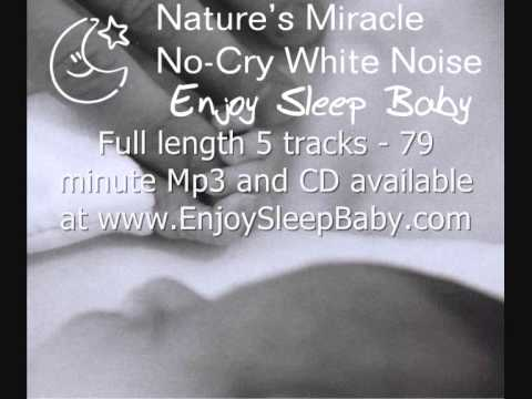Womb & Heartbeat Womb Sounds - Stop Baby Crying - Nature's Miracle No-Cry White Noise