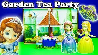 SOFIA THE FIRST Disney Sofia the First Garden Tea Party Set a Sofia the First Video