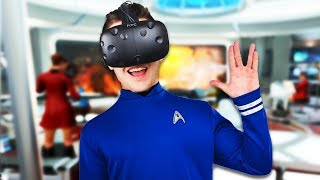 VR Star Trek with Blitz! - Star Trek: Bridge Crew Gameplay - Star Trek: Bridge Crew VR HTC Vive