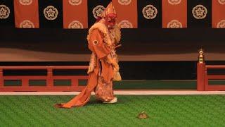 雅楽 舞楽「還城楽」 Gagaku Bugaku 「genjouraku」