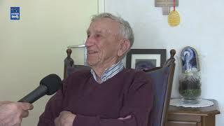 In gesprek met Dorus Broeks, hij was op 30 januari 1944 getuige van het neerstorten van een Messers