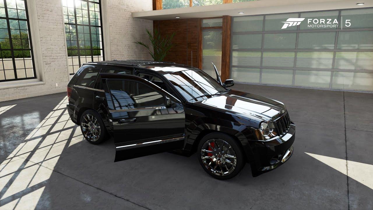 forza motorsport 5 2008 jeep grand cherokee srt8. Black Bedroom Furniture Sets. Home Design Ideas