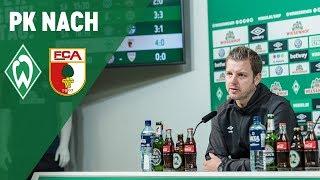 Pressekonferenz mit Florian Kohfeldt & Manuel Baum | SV Werder Bremen - FC Augsburg 4:0