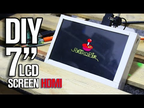 Homemade 7 inch Screen with HDMI input for 28$