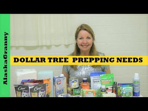Dollar Tree Haul Prepping Supplies