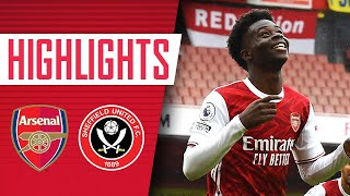 SAKA AND PEPE SEAL VICTORY! | Arsenal 2-1 Sheffield United | Highlights | Premier League