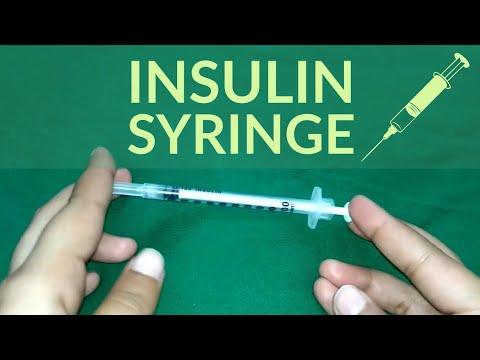 Insulin Syringe | Insulin Injection | Insulin Shot | Sweta Yadav