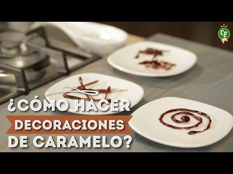 C mo hacer decoraciones de caramelo cocina fresca - Decoraciones para cocinas ...