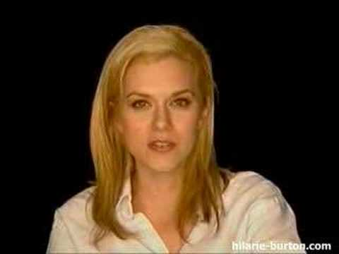 One Tree Hill Diary: Hilarie Burton Part 1
