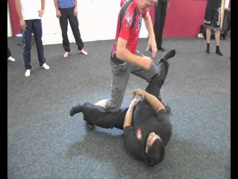 Rapid Arnis Triangle Footwork