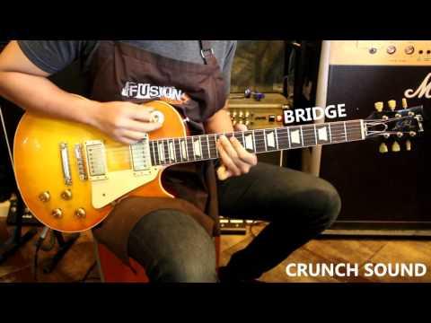 รีวิว Gibson Les Paul Re58 Vos 2011 Iced Tea