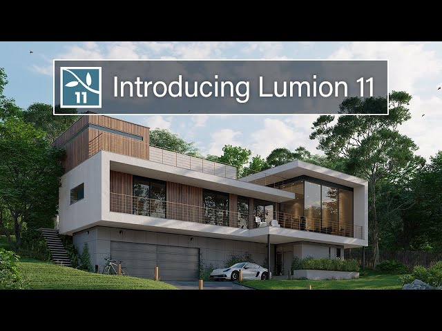 Lumion 11 release trailer   Breathe life into architectural rendering