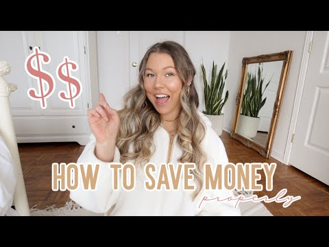 HOW TO SAVE MONEY // tips for living on a budget and trying to save for the future + thrift haul!