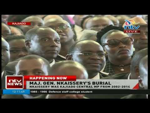 Nkaissery's elder brother eulogises the late Major General Nkaissery
