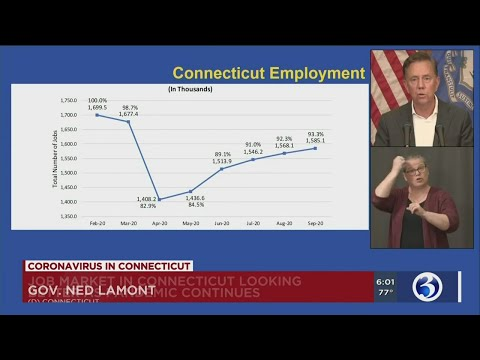 VIDEO: New unemployment numbers show Connecticut is on the rebound