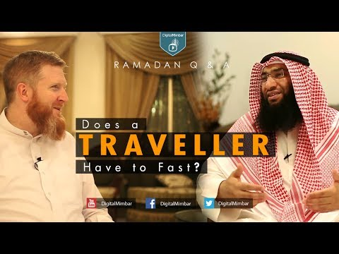 Does a Traveller Have to Fast? | Ramadan Q & A | John Fontain & Ahmed Al-Rumh