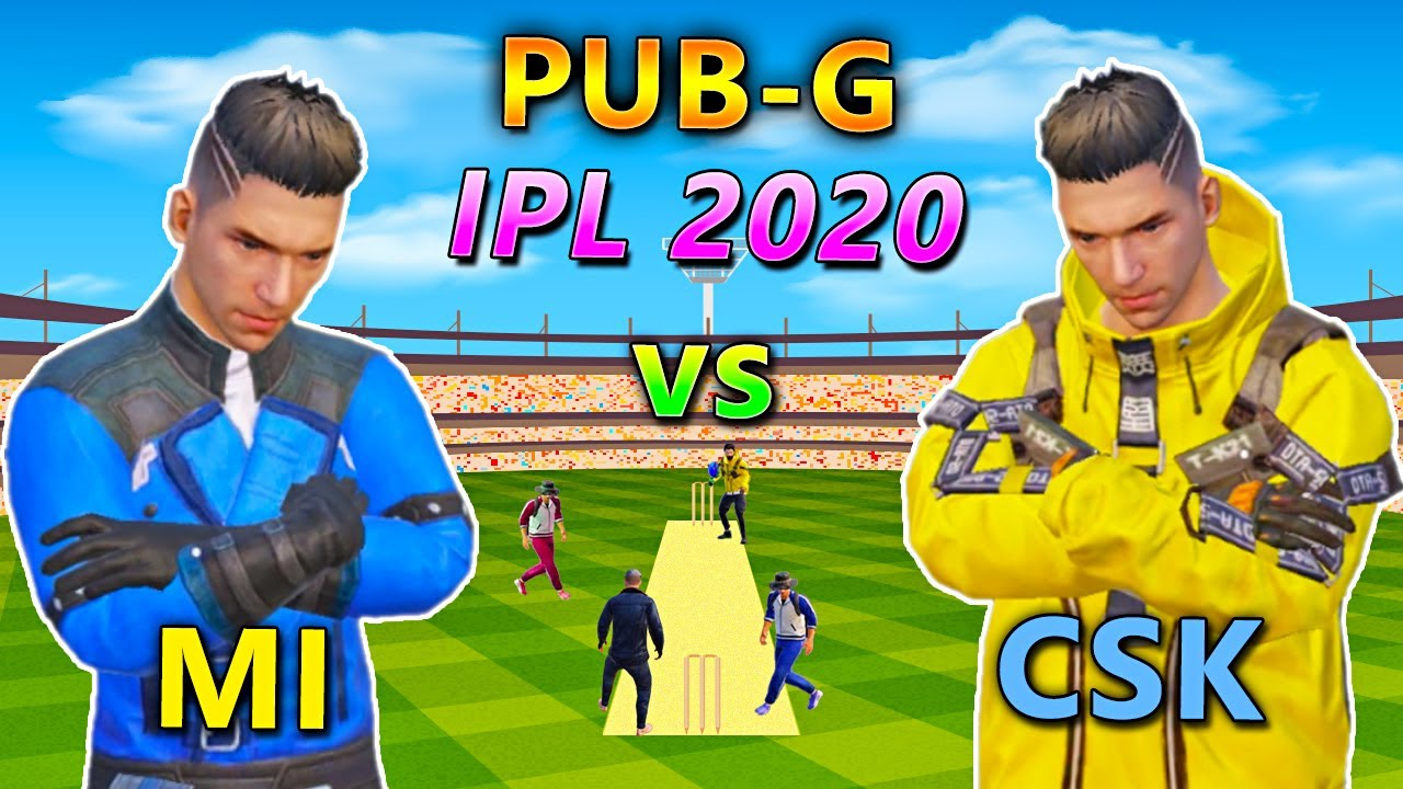 IPL 2020 in PUBG | MI vs CSK Indian Pubg League | Bollywood Gaming