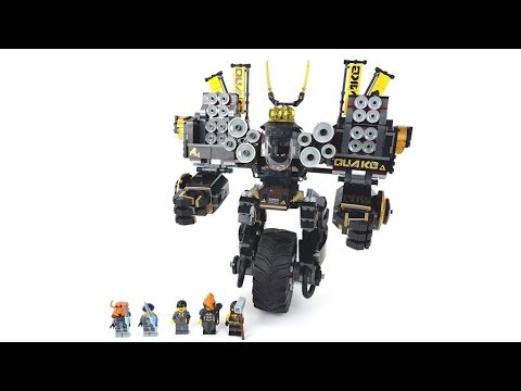 The LEGO Ninjago Movie Set 70632 - Cole's Donner-Mech / Review ...