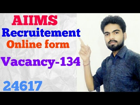 AIIMS Bhopal Recruitment 2017 for Senior Resident and Tutor / Demonstrator Jobs