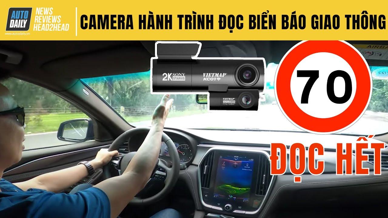 Review Camera hành trình đọc biển tốc độ và camera giao thông - YouTube