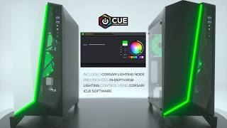 CORSAIR SPEC-OMEGA RGB - Unmistakable Style, Tempered Glass, Brilliant RGB Lighting