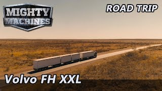 Volvo's all-new FH XXL Cab on epic Aussie road trip! - Mighty Machines TV
