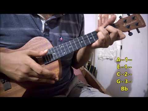 Ajeeb Dastan Hai Yeh - Easy Ukulele Lesson   Intro & Chords