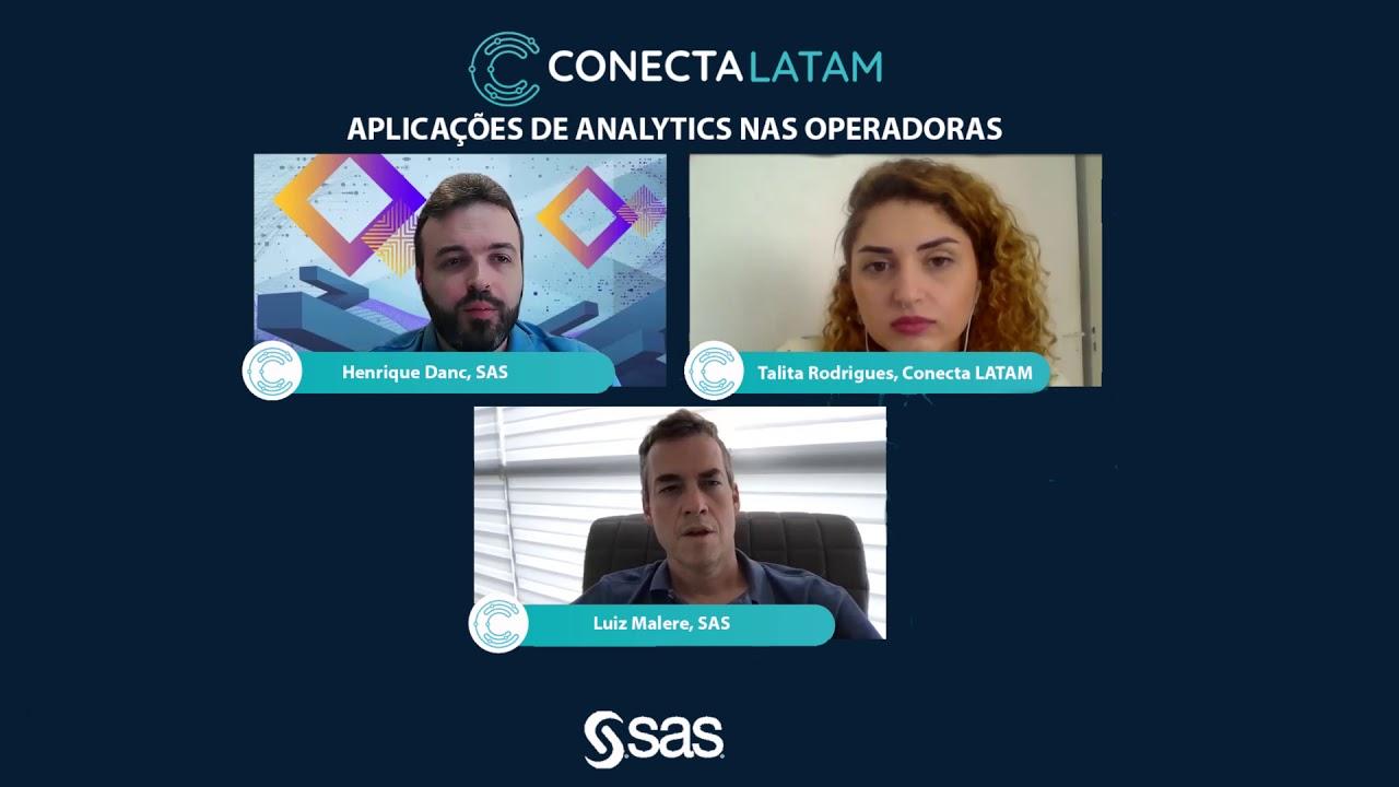 Conectalk#30 - Aplicações de Analytics para operadoras