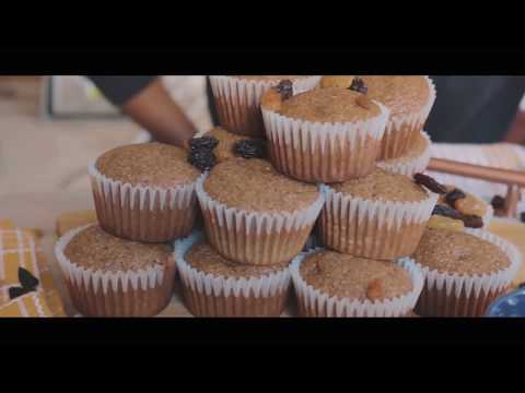 Snowflake Easy Mix Bran Muffins | By Dabilo X Travelling Black Marie