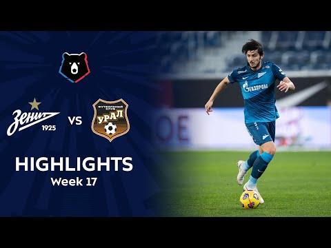 Zenit Petersburg Ural Goals And Highlights