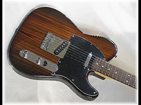 2015 Dillion Rosewood Tele DRT-69 A ROSIE Guitar Review By Scott Grove