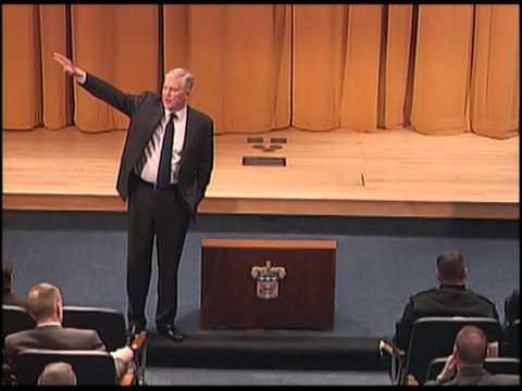 Retired Gen. Richard Myers speaks to USAWC Class of 2012