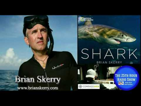 "Brian Skerry - 2017 Rolex National Geographic Explorer Of The Year - New Book ""Shark"""