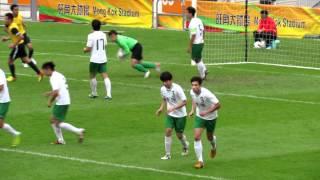 遵理荃灣vs英皇佐治五世 2012學界足球精英賽決賽 上半塲精華