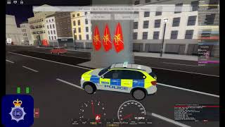 [Roblox New City of London, United Kingdom] SCO19 Patrol Afternoon shift.