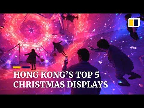 Hong Kong's top five Christmas displays