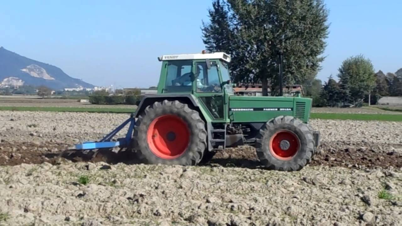 Fendt Farmer 311 Lsa Turbomatik Dissodatore 2a Youtube