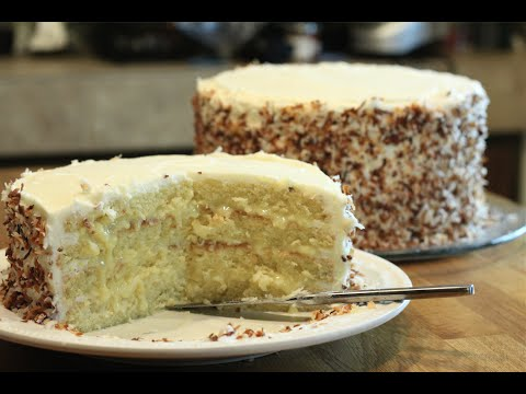 How To Make A Coconut Cake and Frosting