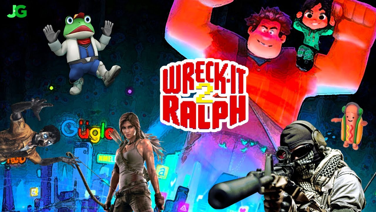 What Characters Will Be In Wreck It Ralph 2 Ralph Breaks The Internet Youtube