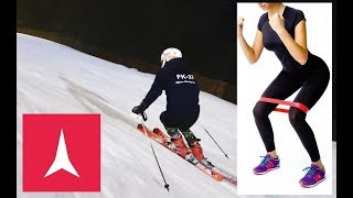 Improve your Parallel Skiing using a BOOTY BAND