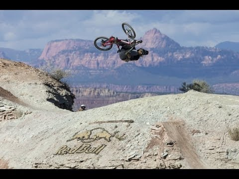 Huge MTB backflip over a 72 ft canyon gap