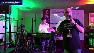 Yamaha Genos Präsentation mit Sadi Richter in Erfurt zum Musikertreffen 2019