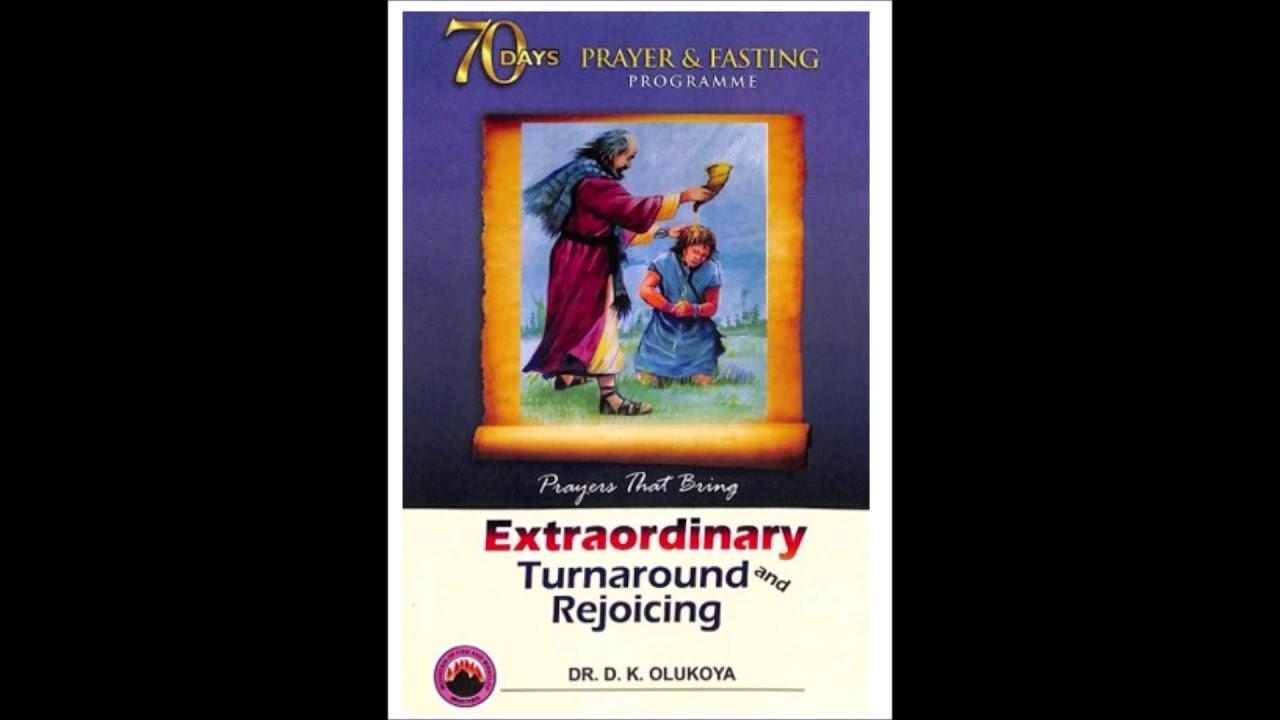 70 Days Prayer and Fasting Praise & Thanksgiving Prayers 2018